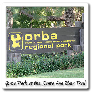 Bikes Yorba Linda Image of the Sign at Yorba